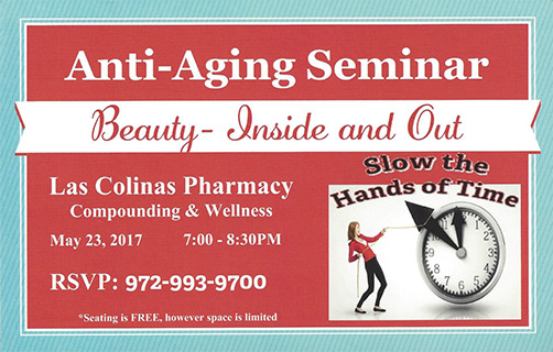 Anti-Aging Seminar - Beauty - Inside and Out